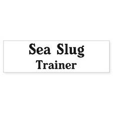 Sea Slug trainer Bumper Bumper Sticker