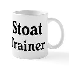 Stoat trainer Mug
