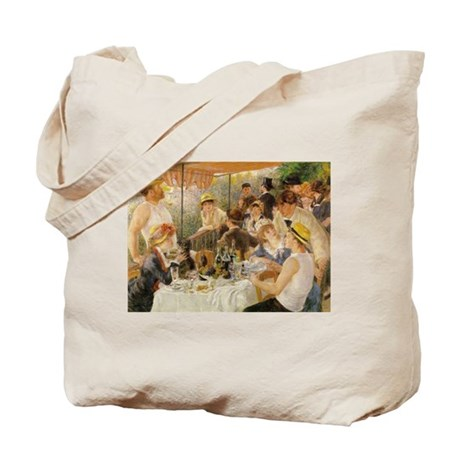Luncheon of the Boating Party, 1881 Tote Bag