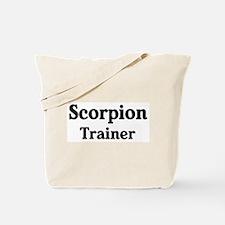 Scorpion trainer Tote Bag
