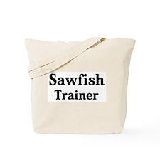 Sawfish trainer Tote Bag