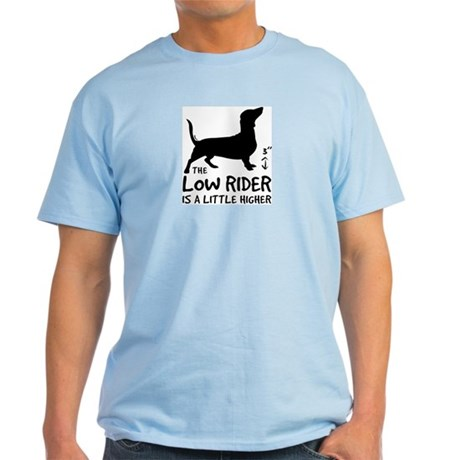 """""""The Low Rider is..."""" Doxie Ash Grey T-Shirt"""