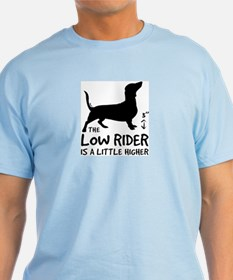 """The Low Rider is..."" Doxie Ash Grey T-Shirt"