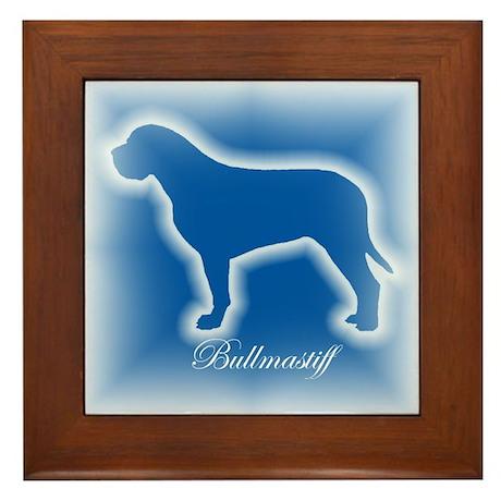 Bullmastiff Framed Tile