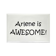 Cute Arlene Rectangle Magnet