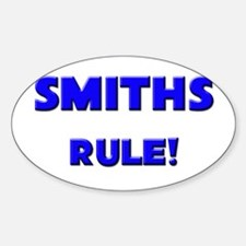 Smiths Rule! Oval Decal