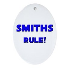 Smiths Rule! Oval Ornament