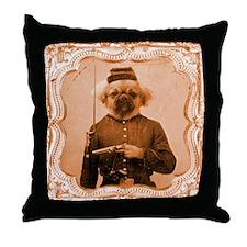 Tibetan Spaniel LEFTY Throw Pillow