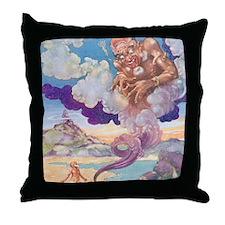 The Genie Throw Pillow