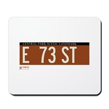 73rd Street in NY Mousepad