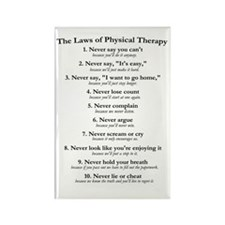 Laws of P.T. Rectangle Magnet (10 pack)