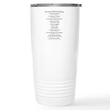 Laws of P.T. Travel Mug