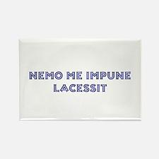 Nemo Me Impune Lacessit Rectangle Magnet (10 pack)