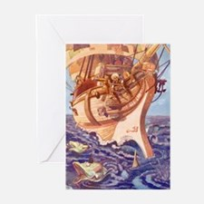 I Saw Fishes Greeting Cards (Pk of 10)