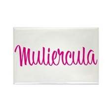 Muliercula [Latin for Bimbo] Rectangle Magnet (10