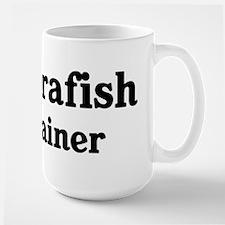 Zebrafish trainer Large Mug