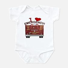I Love EMERGENCY! Infant Bodysuit