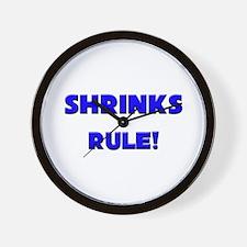 Shrinks Rule! Wall Clock