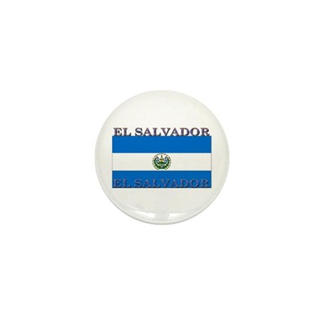 El Salvador Mini Button