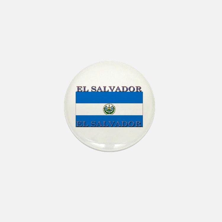 El Salvador Mini Button