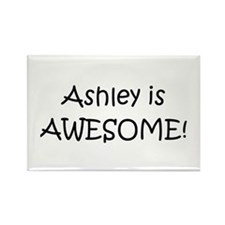 Cute Ashley Rectangle Magnet