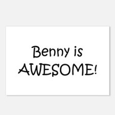 Unique Benny Postcards (Package of 8)