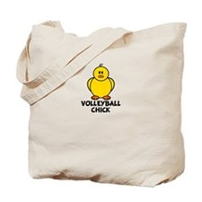 Volleyball Chick Tote Bag