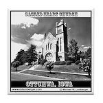 Sacred Heart Church Tile Coaster