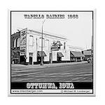 Wapello Dairies Tile Coaster