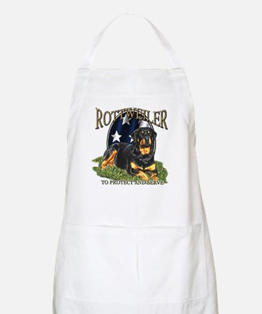 To protect & Serve BBQ Apron
