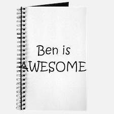 Cute Ben Journal