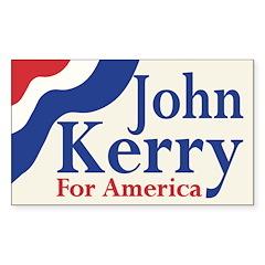 John Kerry for America (bumper sticker)