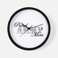 Proud Mom Wall Clock