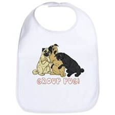 Group Pug Bib
