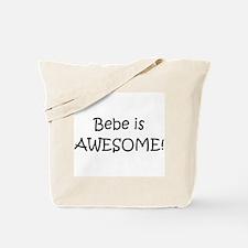 Funny Bebe Tote Bag