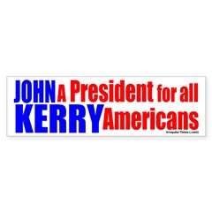 John Kerry for All Americans (sticker)