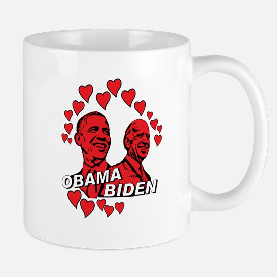 Obama Biden - Feel the love Mug