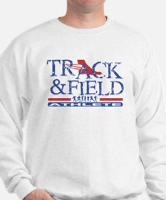 Track and Field Athlete Sweatshirt