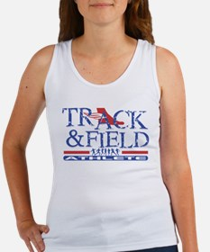 Track and Field Athlete Women's Tank Top
