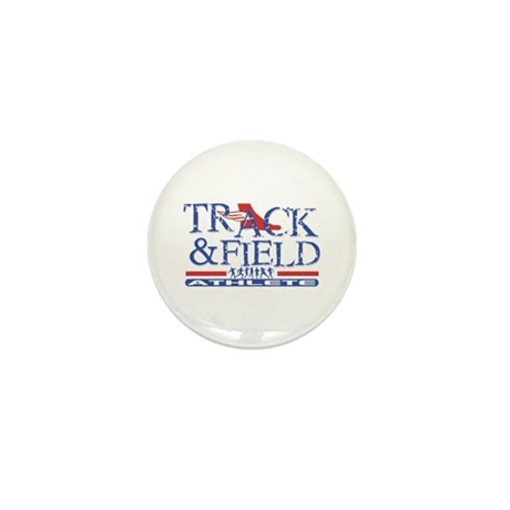 Track and Field Athlete Mini Button (100 pack)