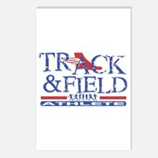 Track and Field Athlete Postcards (Package of 8)