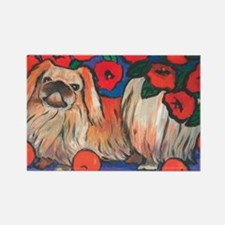 Pekingese Rectangle Magnet