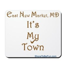East New Market My Town Mousepad