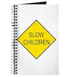 Slow Children Sign - Journal