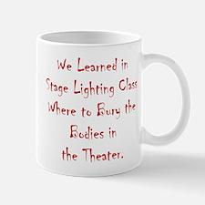 Lighting - Burying The Body 1 Mug