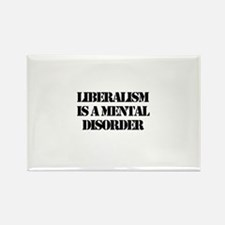 Cute Liberalism Rectangle Magnet