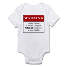 Pissing Off Costume Designer 001 Infant Bodysuit