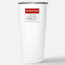 Pissing Off Costume Designer 001 Travel Mug