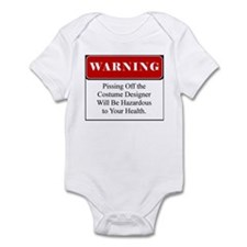Pissing Off Costume Designer 002 Infant Bodysuit