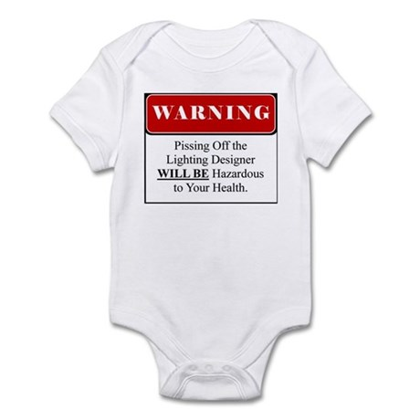 Pissing OffLighting Designer 002 Infant Bodysuit